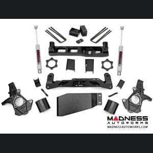 """Chevy Silverado 1500 4WD Suspension Lift Kit w/ Premium N3 Shocks - 5"""" Lift"""